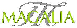 Magalia Maella – Productores de Melocotón de Calanda, albaricoque y cereza, Aceite virgen extra empeltre D.O. Bajo Aragón, y vino IGP Bajo Aragón Logo